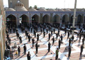 مراسم زیارت و عزاداری اربعین در بافق برگزار شد+تصاویر