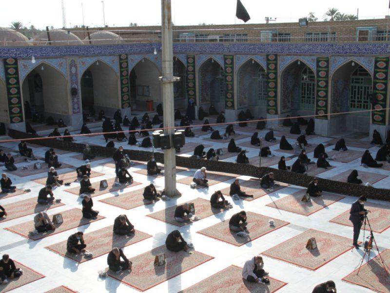 مراسم زیارت و عزاداری اربعین در بافق