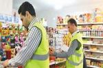 بسیج و اتاق اصناف بر مغازه های بافق در خصوص کرونا نظارت می کند
