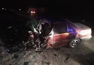 مصدوم شدن راننده سواری بر اثر انحراف خودروی سواری ۴۰۵