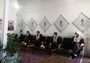 دیدار جمعی از مسئولین با امام جمعه بافق