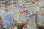 توزیع بسته های معنوی_بهداشتی توسط بسیج طلاب بافق