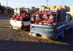 اهدای سبد غذایی به  مددجویان تحت پوشش بهزیستی