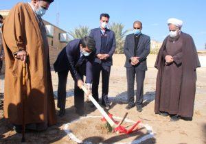 عملیات احداث ساختمان جدیدبنیاد شهید بافق با اعتبار بیش از ۱۰میلیارد ریال آغاز شد+تصاویر