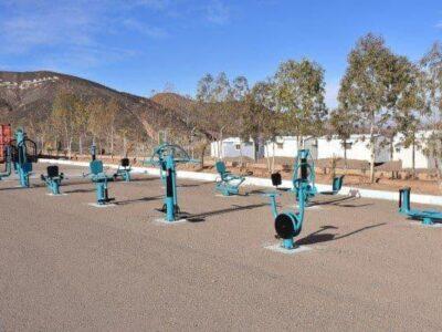 تجهیز معادن مجتمع سنگ آهن فلات مرکزی  بافق به وسایل ورزشی