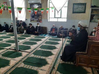 برگزاری مراسم جشن انقلاب اسلامی در روستای باغدر+تصاویر