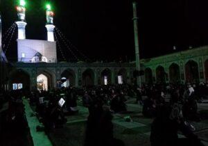 شب قدر در آستان امامزاده عبدالله(ع) بافق