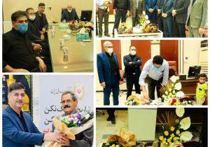 تجلیل از کارمندان بانک ملی شهرستان به بهانه آغاز هفته بانکداری اسلامی
