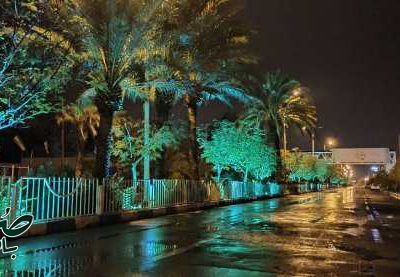 یک شب بارانی در بافق از دریچه دوربین جلال طاهری