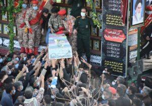 شهدای گمنام در بافق آرمیدند+تصاویر