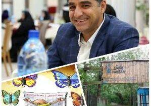 محصولات پوسیده غرب هدایای دانش آموزان نخبه بافقی توسط مدیر سنگ آهن