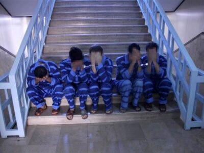 دستگیری سارقان ۲ میلیاردی در بافق