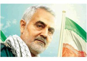 بزرگترین تندیس شهر در شمایل سردار سلیمانی در حال ساخت است/رونمایی از تندیس سردار در خردادماه