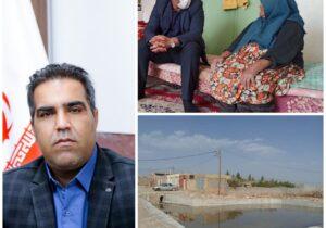 قدردانی جمعی ازخانواده شهدا و اهالی روستای علی آبادسبزدشت از بخشدار بافق