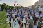 عیدفطر؛ ایستگاه پایانی یک ماه بندگی/ اقامه نماز عاشقی در بافق