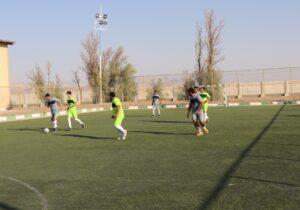افتتاحیه مسابقات فوتبال کارکنان مجتمع فولاد بافق+تصاویر