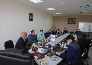 دیدار معاون هماهنگی امور اقتصادی استانداری یزد و هیئت همراه با مدیرعامل شرکت سنگ آهن مرکزی